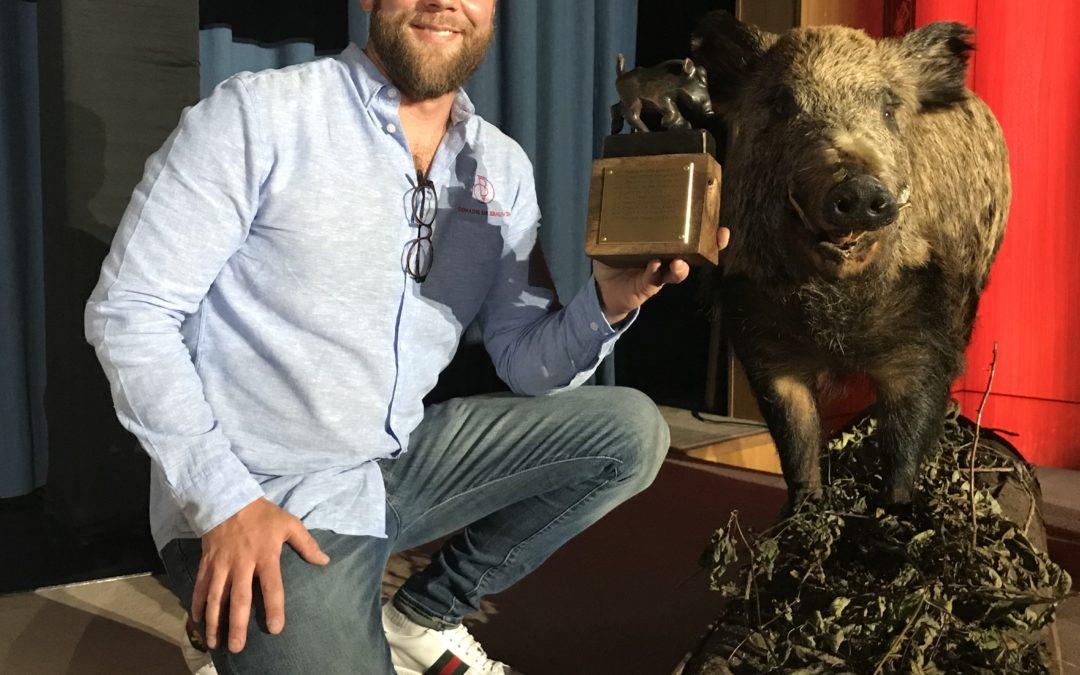 Sanglier d'OR à la Sélection des vins de Genève 2019