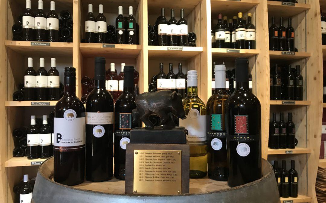 Sélection des Vins de Genève 2019